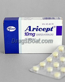 Aricept Donepezil Cost